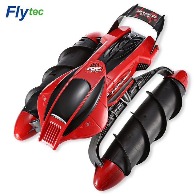 Coupcou.com: Flytec 989 - 393 2.4GHz Amphibious Stunt RC Tank Car