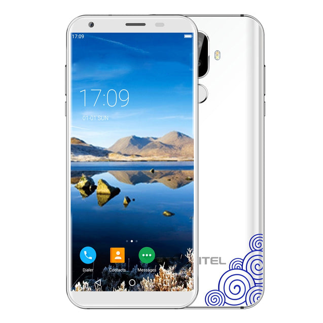 Coupcou.com: OUKITEL K5 4G Phablet 5.7 inch Android 7.0 MTK6737T Quad Core 1.5GHz 2GB RAM 16GB ROM Dual Rear Cameras Fingerprint Recognition