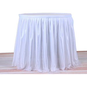 Coupcou.com: Tulle Table Skirt Tablecloth for Party Wedding Home Decoration