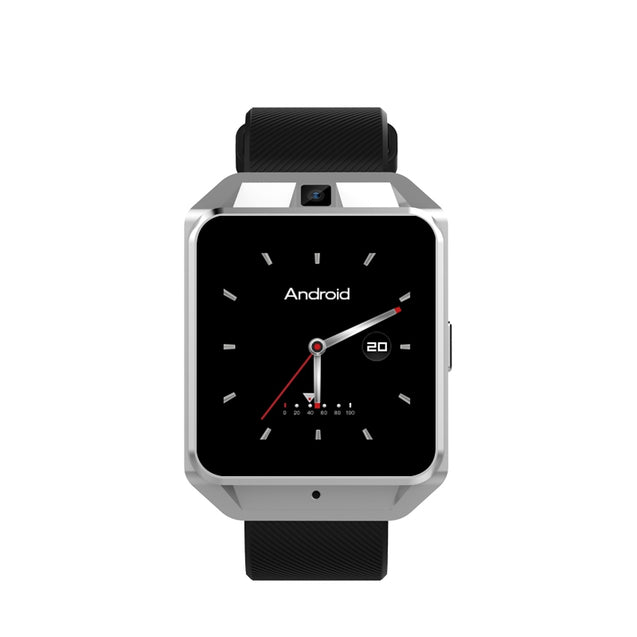 Coupcou.com: Microwear H5 4G Smartwatch Phone 1.54 inch MTK6737 Quad Core 1.1GHz 1G RAM 8G ROM GPS WiFi Heart Rate / Sleep Monitor Sedentary Reminder Video Call