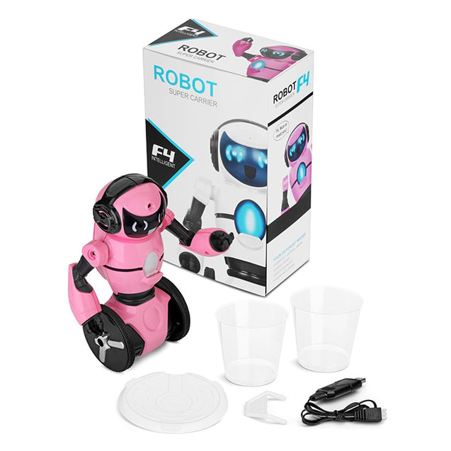 Coupcou.com: WLtoys F4 Two-wheeled Smart Robot WiFi Camera / Dance / Music / Gesture / G-sensor Control / Avoidance Mode