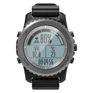 Coupcou.com: S968 GPS Sports Smart Watch IP68 Waterproof Sleep / Heart Rate Monitor Sedentary Reminder Barometer Thermometer Altimeter