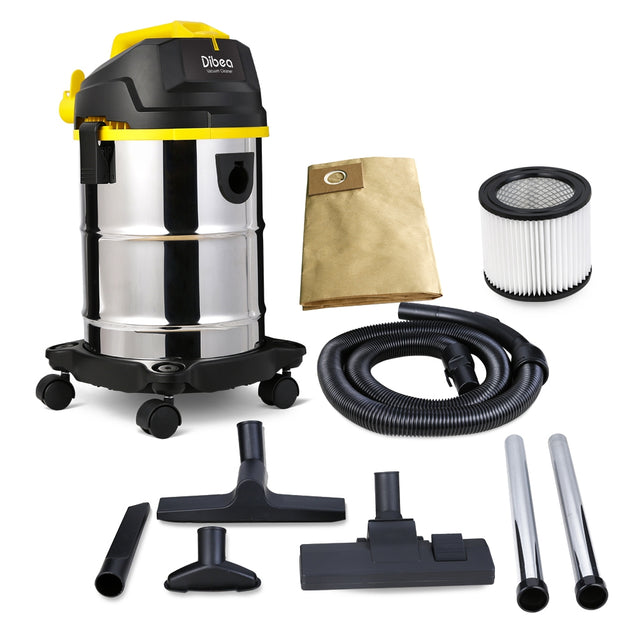 Coupcou.com: Dibea DU100 Household Barrel Type Wet / Dry Vacuum Cleaner Cleaning Machine