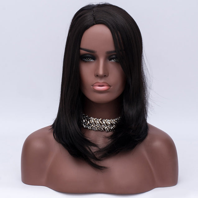 Coupcou.com: Long Side Parting Straight Heat Resistant Synthetic Wig