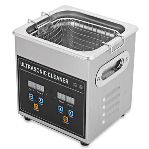 Coupcou.com: CJ - 010S 2L Digital Ultrasonic Cleaner Machine with Heater Timer Cleaning Jewelry False Tooth Shaver