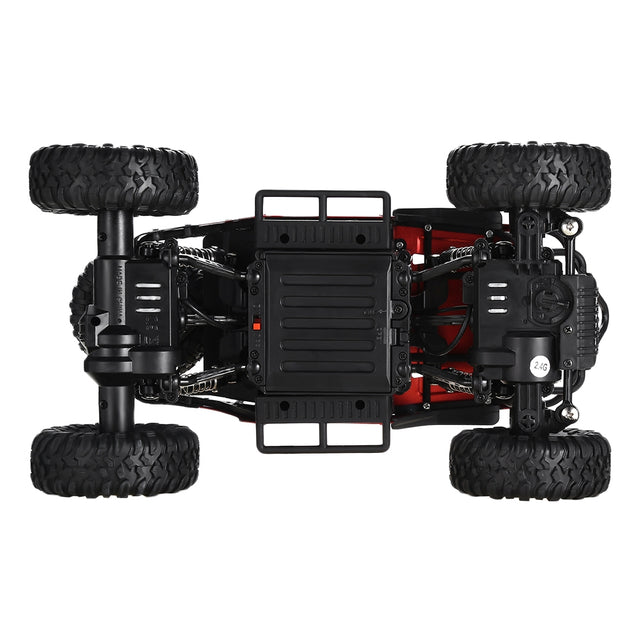 Coupcou.com: Flytec 1:18 2.4G Alloy Four-wheel Drive Off-road Drifting Climbing Remote Control Car