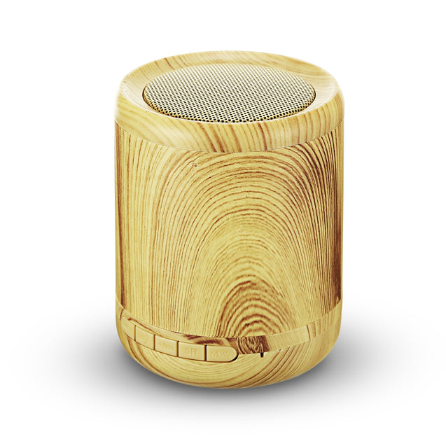Coupcou.com: RGNEGO K100 Bluetooth Speaker Portable Mini Wireless Player Wooden Design