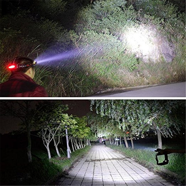 Coupcou.com: YWXLight 30W LED Headlamp Waterproof Zoomable Flashlight Torch for Camping