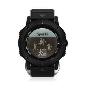 Coupcou.com: UW80C Outdoor Male Sports Digital Watch Heart Rate Monitor SOS Compass GPS Wristwatch for Men