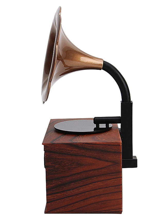 Coupcou.com: ASHU Classical Bluetooth Horn Indoor Speaker