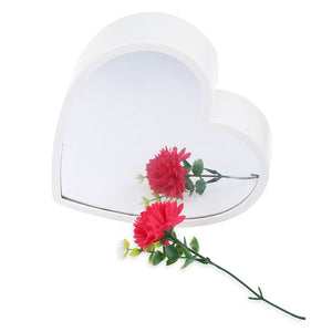 Coupcou.com: Creative Heart Shaped Infinity Mirror Light LED Tunnel Lamp