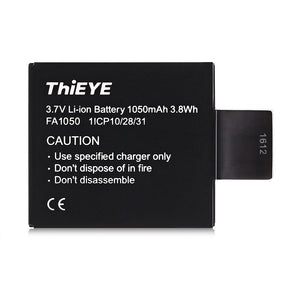 Coupcou.com: ThiEYE 1050mAh 3.7V Rechargeable Li-ion Battery