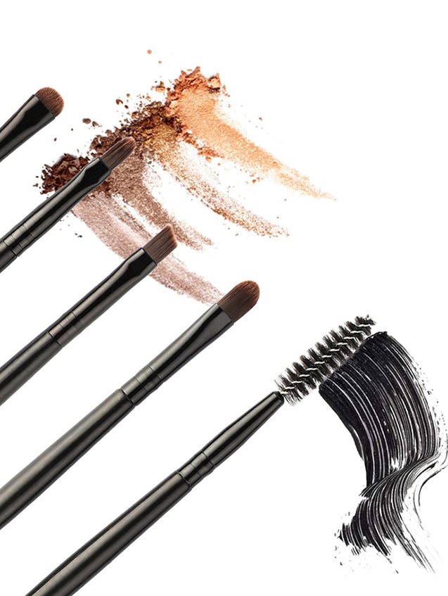 Coupcou.com: Professional 5Pcs Ultra Soft Double Ended Eye Makeup Brush Set