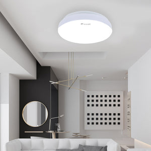 Coupcou.com: YANKON 12W Round Simple Adjustable LED Ceiling Light