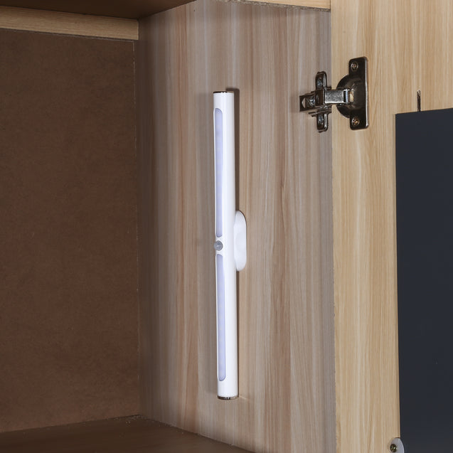 Coupcou.com: 18006 Portable Motion Sensor Rechargeable LED Closet Light Stick-on Anywhere for Cabinet / Bedroom / Cupboard