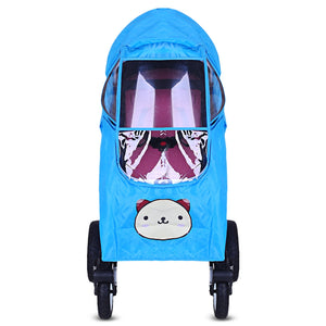 Coupcou.com: Baby Stroller Accessories Zipper Pushchair Universal Rain Cover