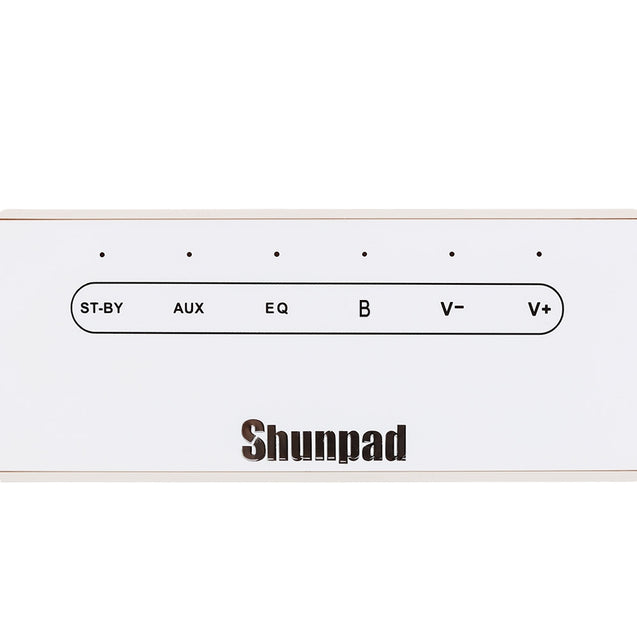 Coupcou.com: Shunpad P5MIC Desktop Mini Wireless Bluetooth Soundbar Speaker Subwoofer Sound