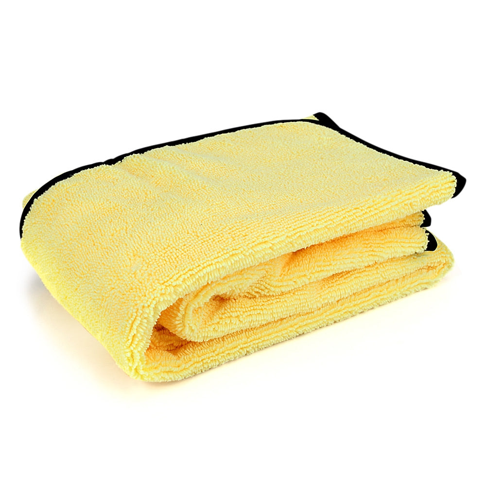 Car Wash Towel Microfiber Super Absorbent for Cleaning DryingYELLOW