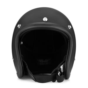 Coupcou.com: T001 Motorcycle Vintage Open Face Helmet for Riding
