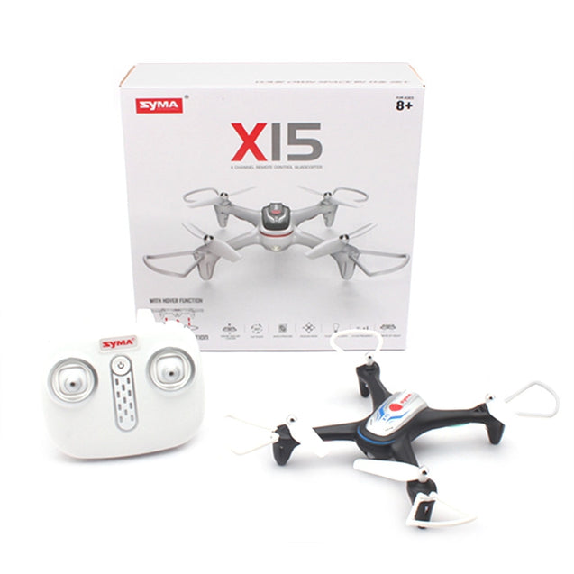 Coupcou.com: SYMA X15 RC Drone RTF 2.4GHz 4CH 6-axis Gyro / Altitude Hold / One Key to Take off