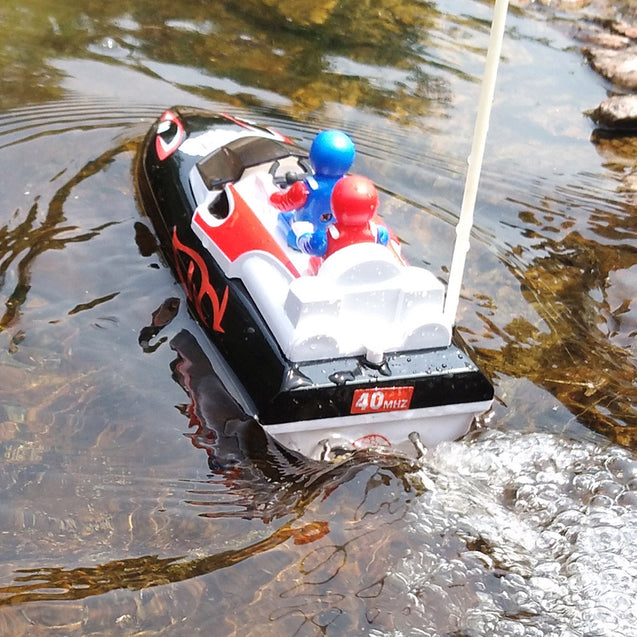 Coupcou.com: Flytec 2011 - 15B Mini RC Outdoor Indoor Water Toy Speedboat Boat 10km/h for Kids