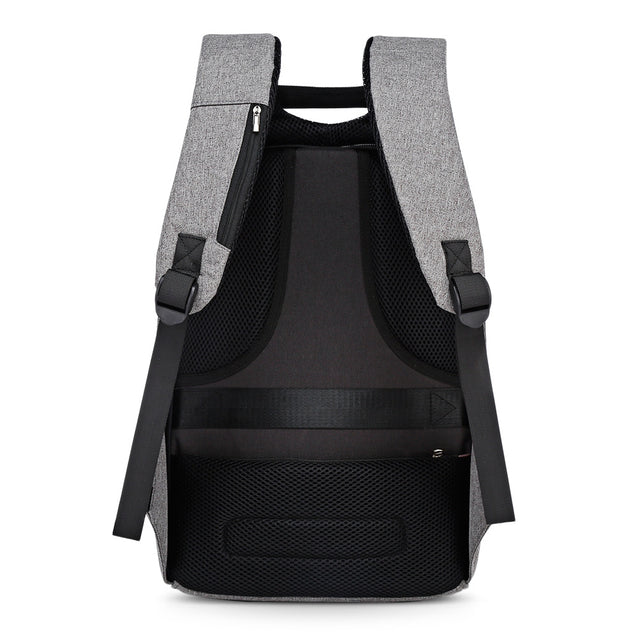Coupcou.com: Men Business Anti-theft Male Large Capacity Backpack with 2 USB Charging Ports
