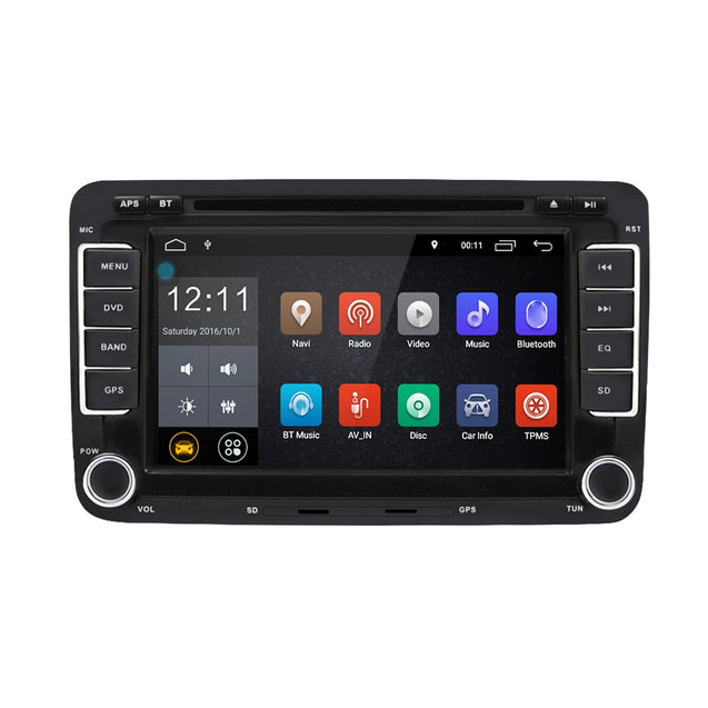 Coupcou.com: RM - CLVW70 - D 7 inch Universal Android 6.0 Double Din Car DVD Player