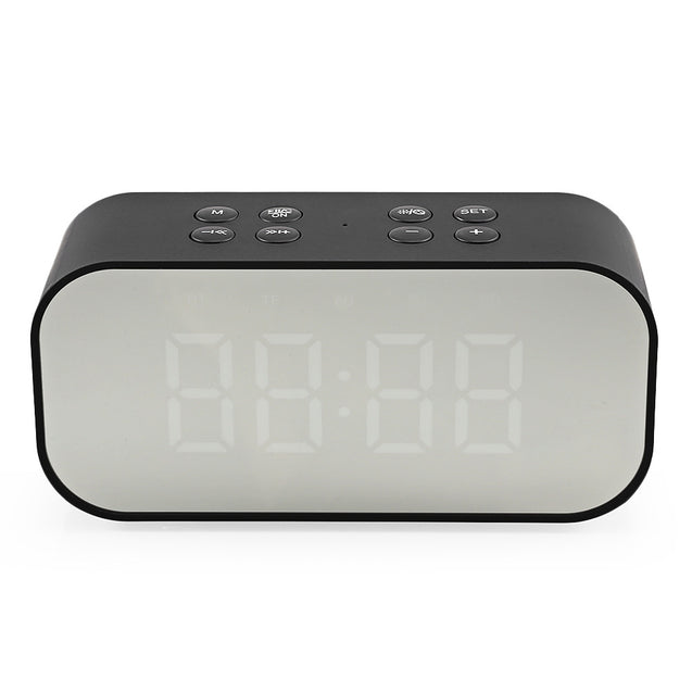 Coupcou.com: AEC BT501 Portable Alarm Clock Wireless Bluetooth Stereo Speaker LED Display