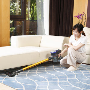 Coupcou.com: Dibea Lightweight Cordless Handheld Stick Vacuum Cleaner