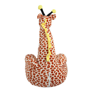 Coupcou.com: Cartoon Children Kids Seat Sofa Nest Chair Giraffe Plush Toy