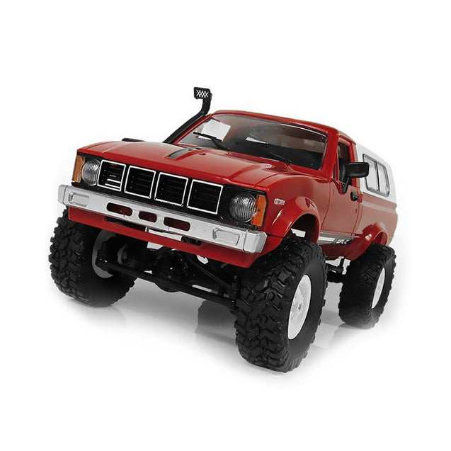 Coupcou.com: WPL C - 24 1/16 4WD 2.4G 2CH Military Buggy Crawler Off Road RC Car
