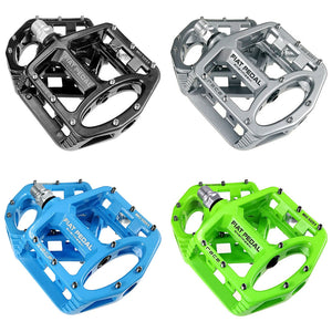Coupcou.com: shanmashi MG 5051 2PCS Flat Bicycle Pedals Racing Anti-slip Lightweight Magnesium Alloy