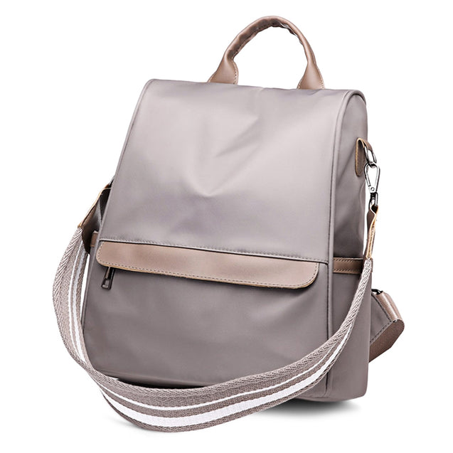 Coupcou.com: Backpack Women Vintage Casual Shoulder Bag Travel Female Nylon Bookbag