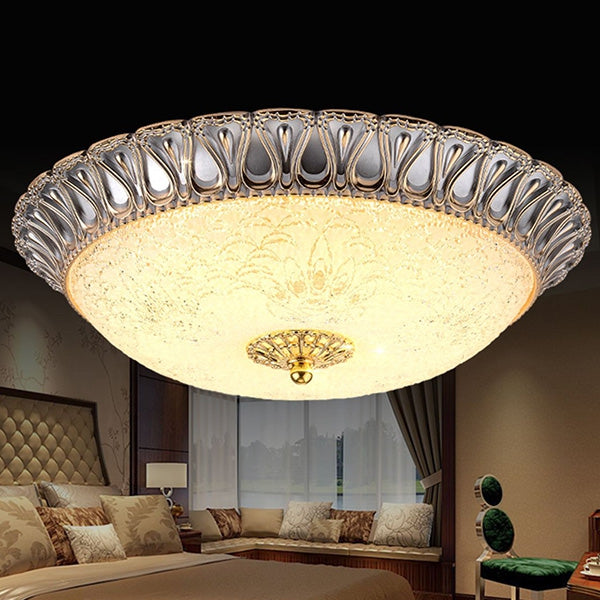 Coupcou.com: Z238 - 320 European Lace Style Round LED Ceiling Light for Bedroom Balcony