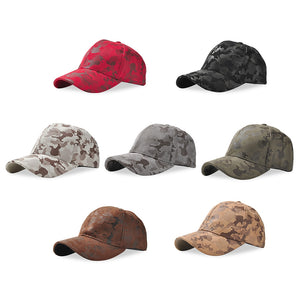 Coupcou.com: Baseball Cap Adjustable Men Women Suede Camouflage Hat
