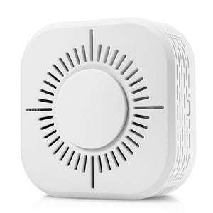 Coupcou.com: C50W Wireless Smoke and Fire Alarm Detector with Battery Backup