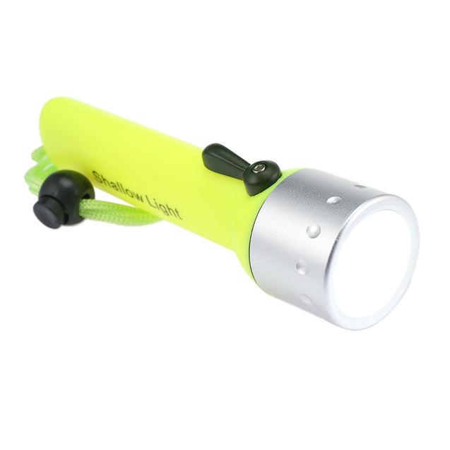 Coupcou.com: PROBE SHINY Diving Lamp Flashlight Battery Powered Underwater Light Torch