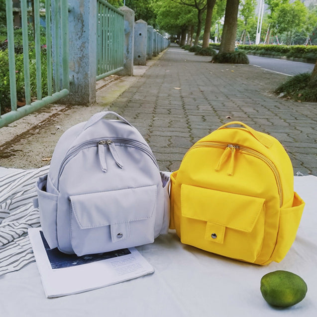 Coupcou.com: Women Backpack Teenager Girls Solid Mini Small School Bag