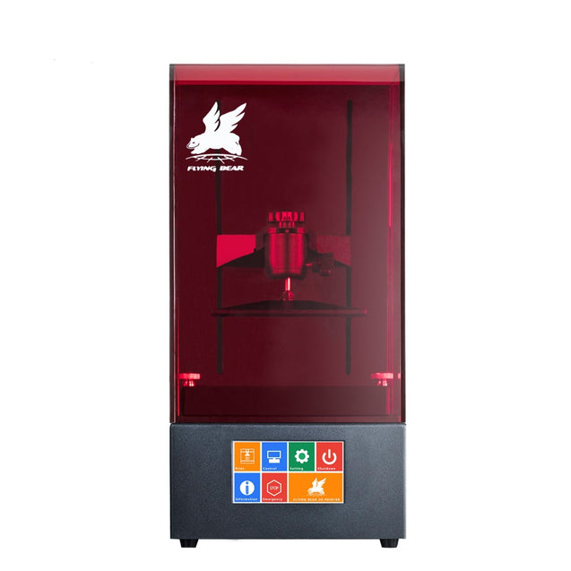 Coupcou.com: Newest Flyingbear Shine UV Resin DLP Color Touch Screen 3D Printer