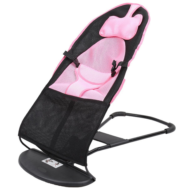 Coupcou.com: Folding Newborn Baby Bouncer Height Adjustable Rocking Chair Seat