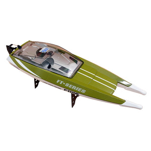 Coupcou.com: feilun FT016 2.4G 4CH Waterproof 28km/h Mini RC Boat Summer Water Toy Gift