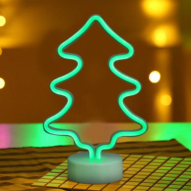 Coupcou.com: Christmas Tree Model Neon Decorative Lamp
