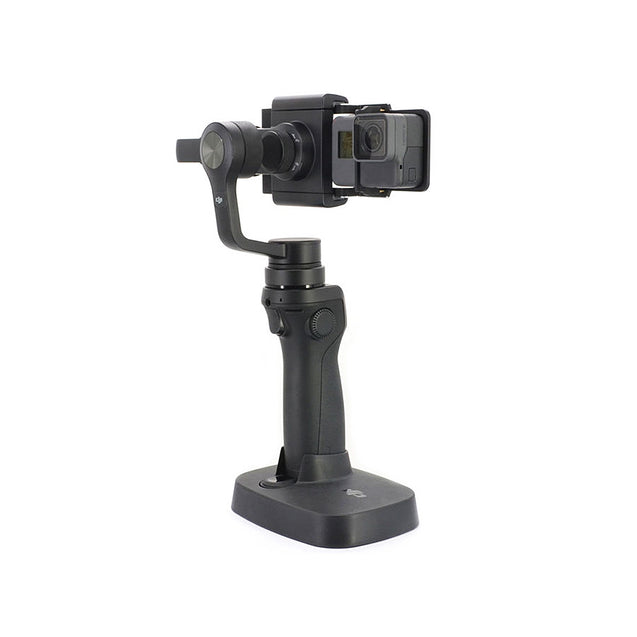 Coupcou.com: Aluminum-Alloy Switch Adapter For DJI Osmo Mobile ZhiYun Gimbal Stabiliser GoPro SJCAM Xiaomi Yi