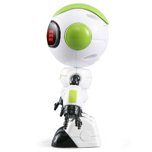 Coupcou.com: JJRC R8 Touch Sensing LED Eyes RC Robot Smart Voice DIY Body Gesture Model Toy