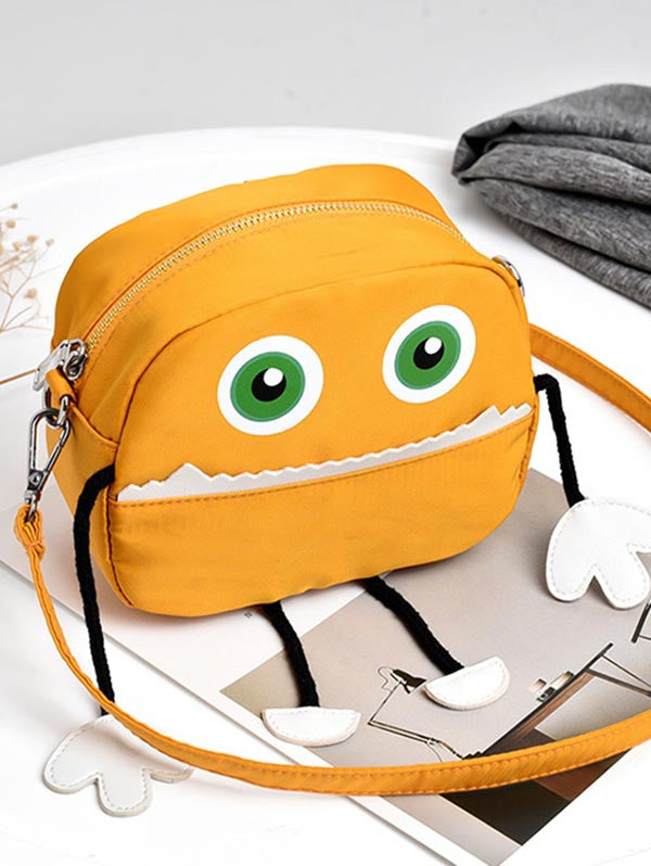 Coupcou.com: Personalized Color Block Cartoon Crossbody Bag
