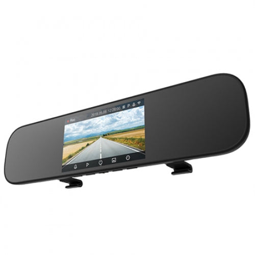 Coupcou.com: Xiaomi Mijia 5 inch Touchscreen Smart Rearview Mirror Car DVR with Voice Control