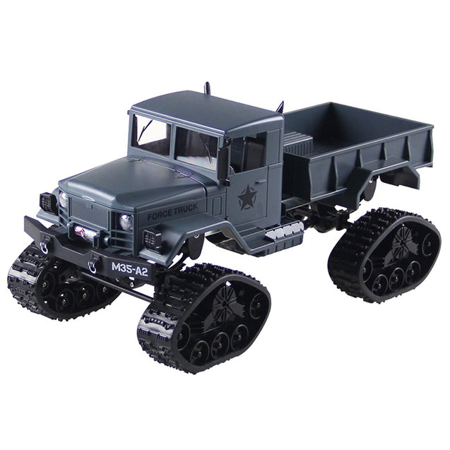 Coupcou.com: FY001B 1/16 2.4G 4WD RC Car Brushed Off-road Truck Snow Tires with Front Light RTR