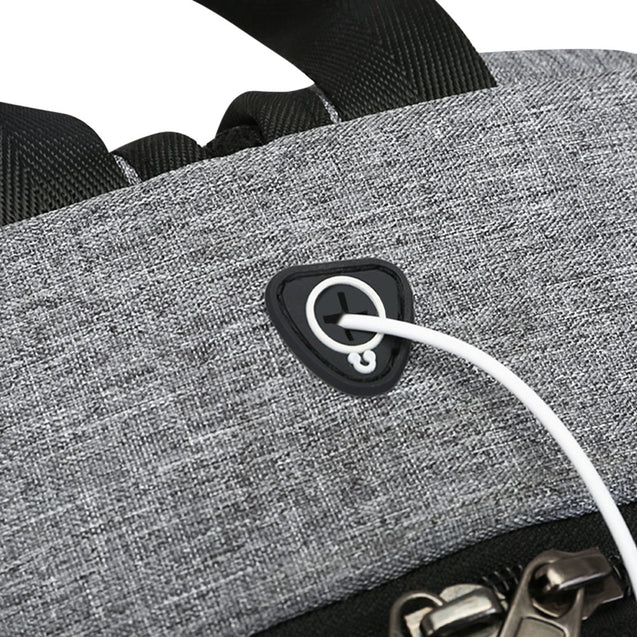 Coupcou.com: Guapabien Large Capacity Travel Backpack with USB Charge Port Earphone Hole