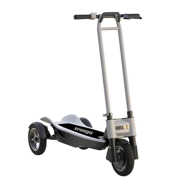 Coupcou.com: Freego ES - 10T Three Wheels Shockproof Folding Electric Scooter 10.4Ah Battery