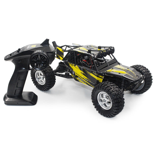 Coupcou.com: HAIBOXING 12895 1/12 2.4G 4WD Adjustable Two-speed RC Off-road Car with LED Light